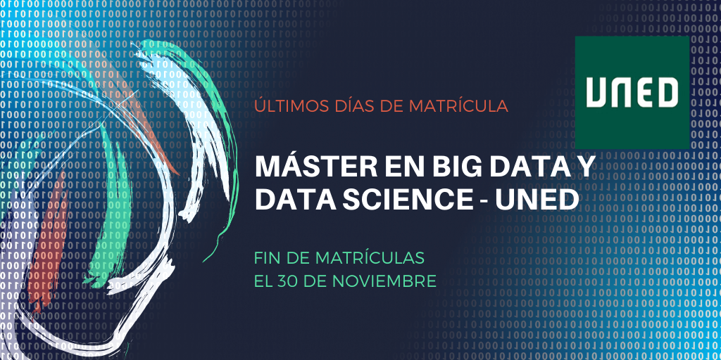 Máster Online en Big Data y Data Science de la UNED