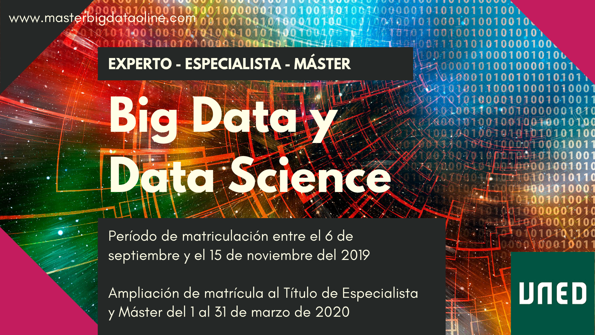 Máster en Big Data y Data Science de la UNED