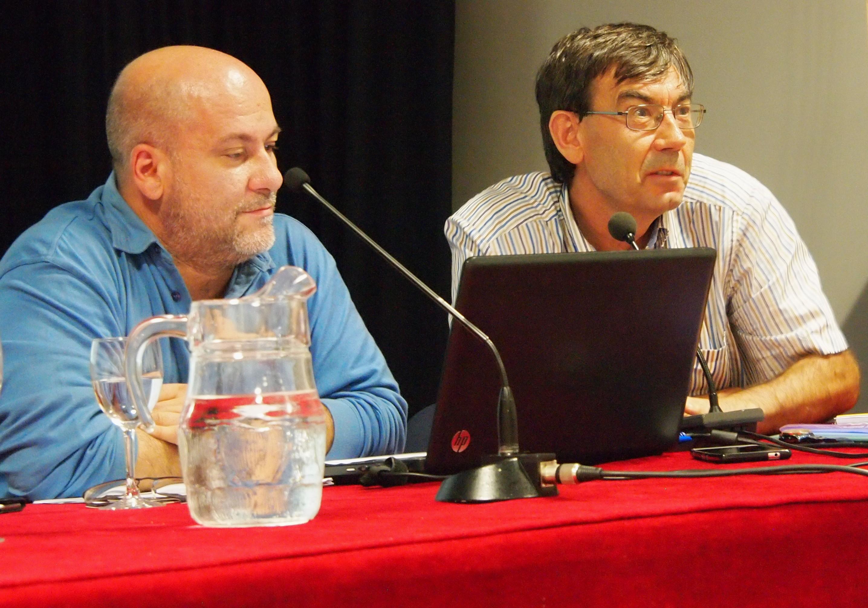 Dr. Juan Antonio Vicente Vírseda y Dr. Mauricio Beltrán Pascual - Conferencia Big Data y Data Science: la nueva realidad (Ateneo de Madrid, 2 de octubre del 2017)