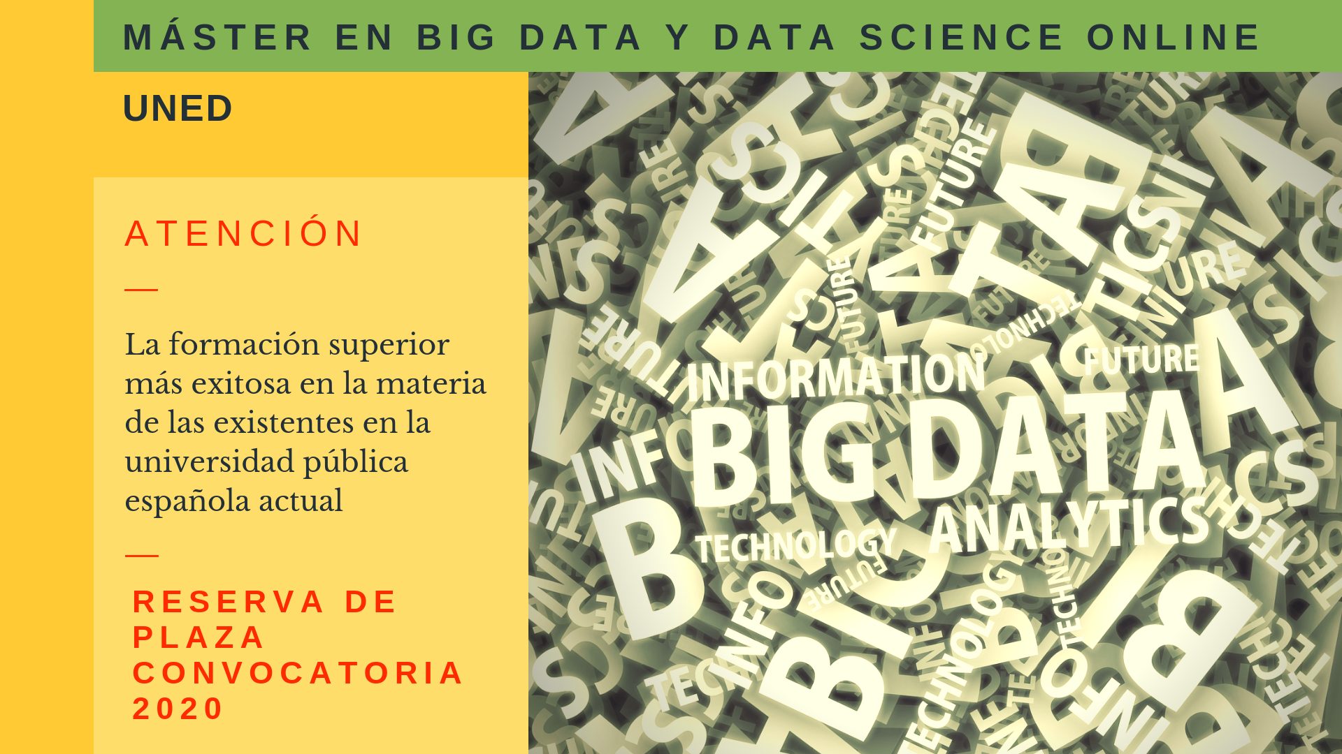 Máster en Big Data 2020