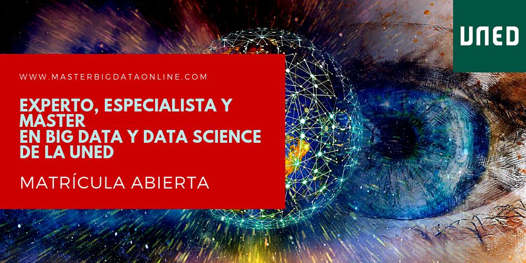 Máster en Big Data y Data Science de la UNED